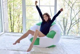 Кресло-мяч Зелный